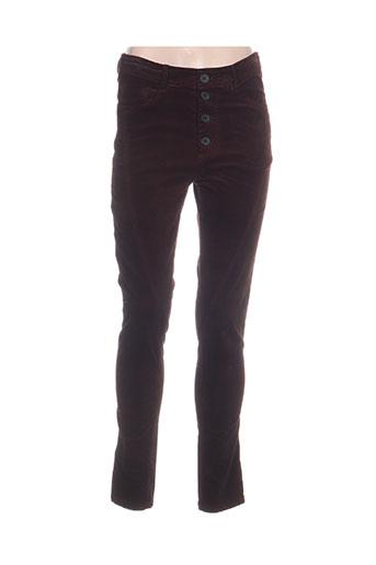 Pantalon casual rouge BLACK LABEL pour femme