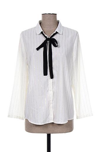 la p'tite etoile chemises femme de couleur blanc