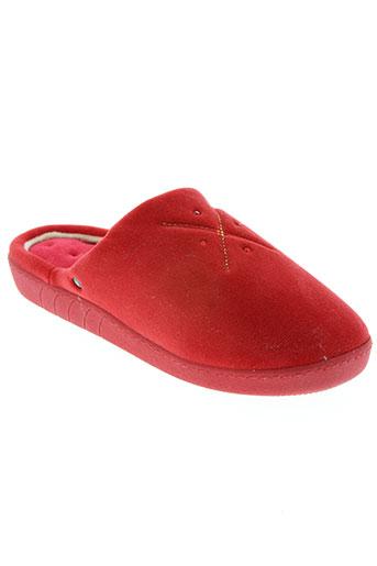 mjus chaussures femme de couleur rouge