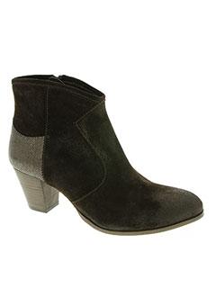 Bottines/Boots marron COCO ET ABRICOT pour femme