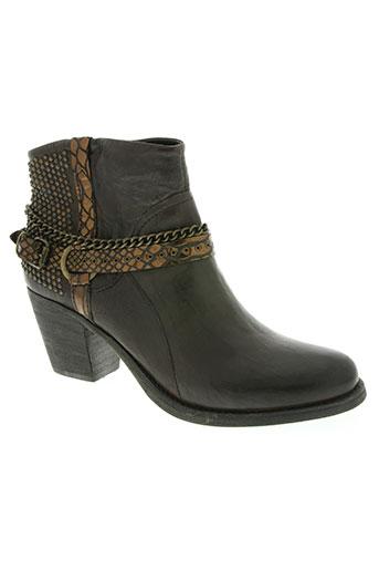 khrio chaussures femme de couleur marron