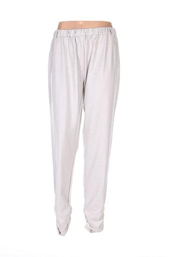Pantalon casual gris BOHÉME pour femme