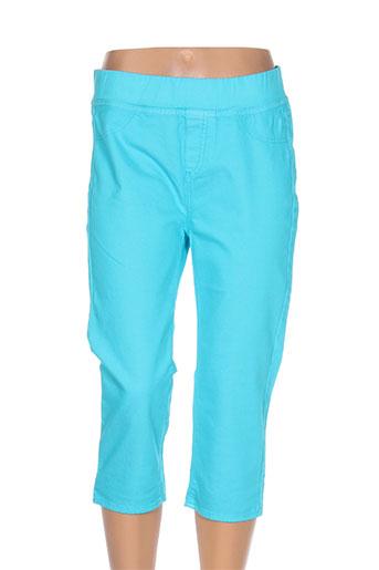 kanope pantacourts femme de couleur bleu