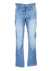 Jeans coupe droite bleu JACK & JONES pour homme seconde vue