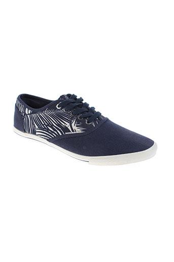 jack & jones chaussures homme de couleur bleu