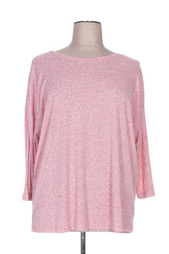 imitz pulls femme de couleur rose
