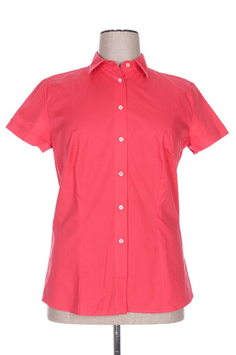 cristiana c chemises femme de couleur rouge