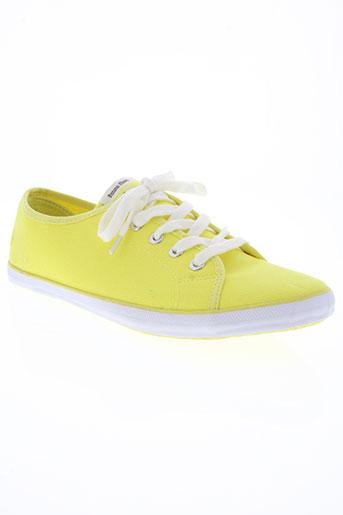 banana moon chaussures femme de couleur jaune