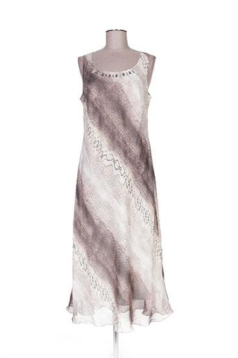 fosby robes femme de couleur beige