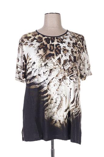 fer t-shirts femme de couleur marron