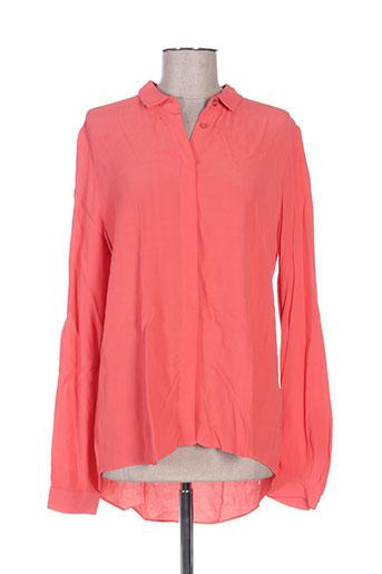 marie-sixtine chemises femme de couleur rouge