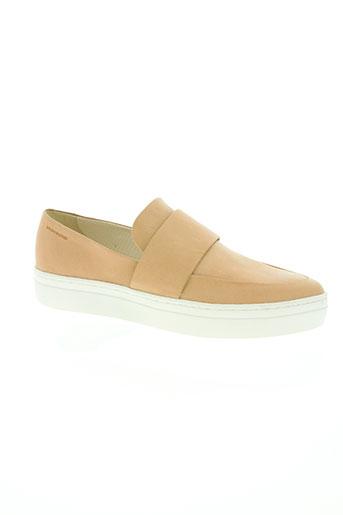vagabond chaussures femme de couleur beige