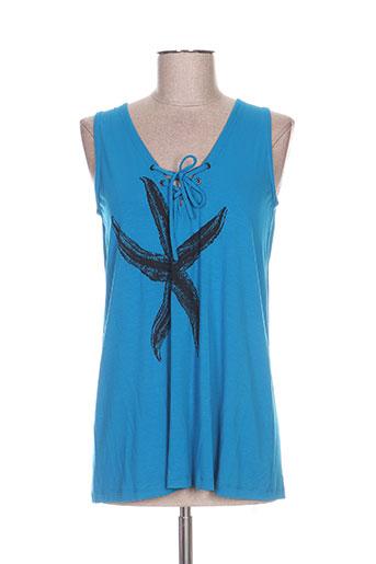 isabel de pedro t-shirts femme de couleur bleu