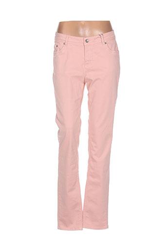 jensen jeans femme de couleur rose