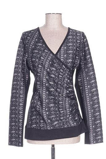 vs moda chemises femme de couleur gris