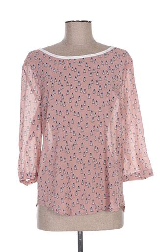 it hippie chemises femme de couleur rose