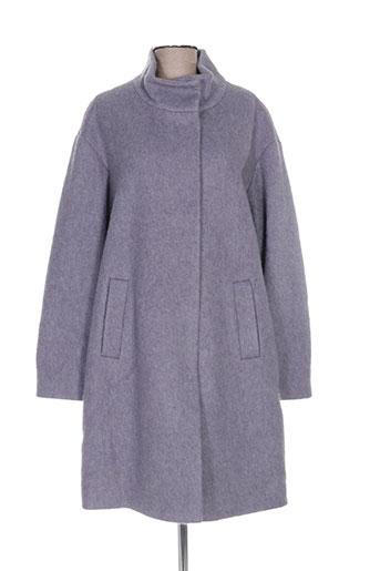 wega fashion manteaux femme de couleur gris