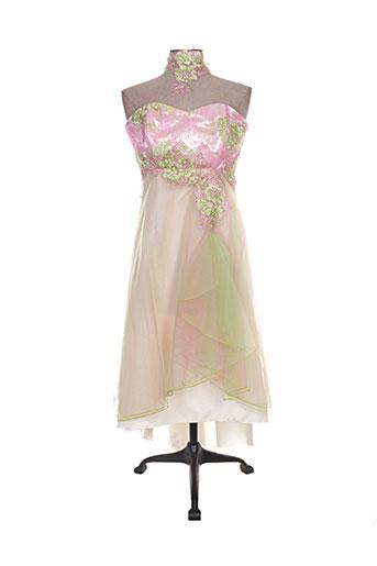matrimonia robes femme de couleur rose