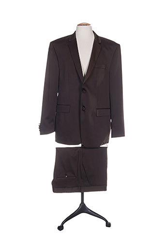 adimo costumes homme de couleur marron