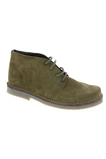 virona chaussures femme de couleur vert