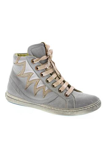 rondinella chaussures fille de couleur gris