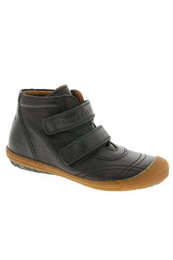 bisgaard chaussures garçon de couleur noir