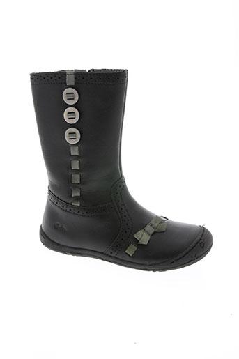 aster chaussures fille de couleur noir