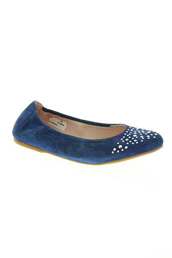super fit chaussures fille de couleur bleu