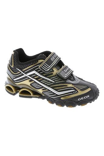 geox chaussures garçon de couleur noir