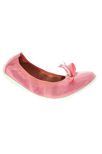 les p'tites bombes chaussures fille de couleur rose