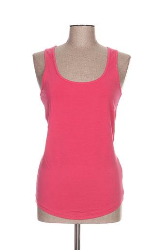 mustang t-shirts femme de couleur rose