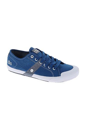 tbs chaussures homme de couleur bleu