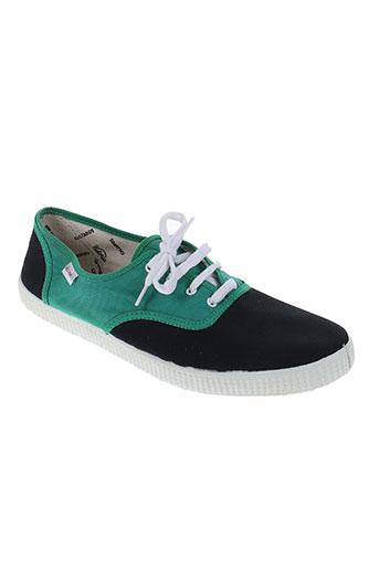 victoria chaussures homme de couleur vert