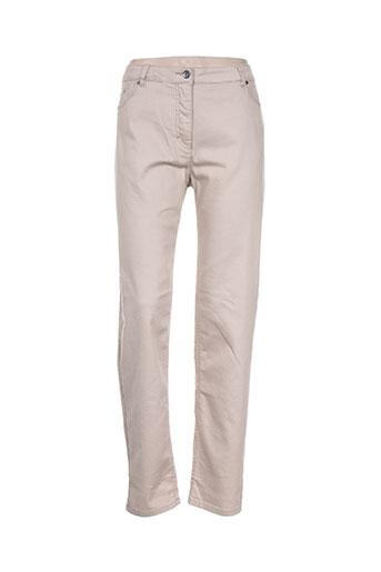 brandtex jeans femme de couleur beige