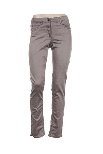 brandtex jeans femme de couleur marron