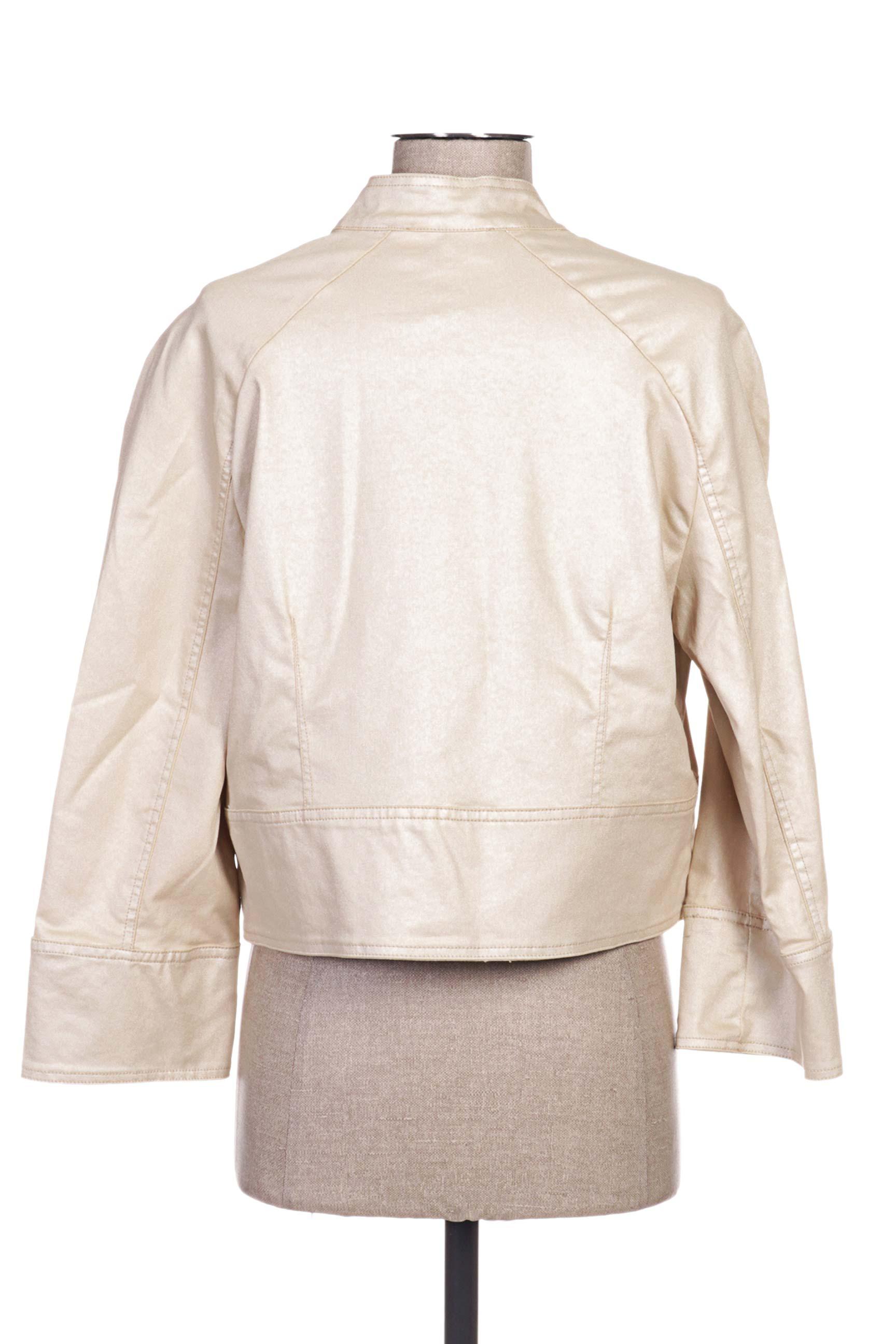 Paul Brial Vestecasual Femme De Couleur Beige En Soldes Pas Cher 1165852-beige0