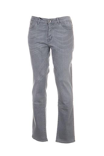 haikure jeans homme de couleur gris