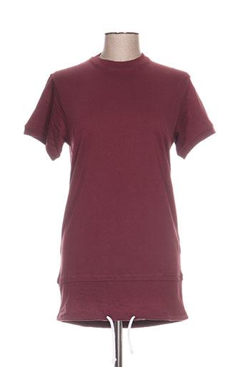 blotter atelier tuniques femme de couleur rouge