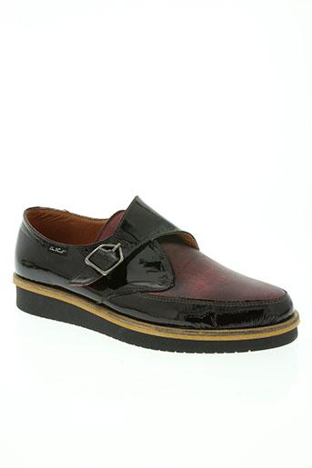 on foot chaussures femme de couleur rouge