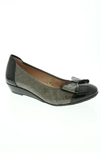 sabrinas chaussures femme de couleur gris