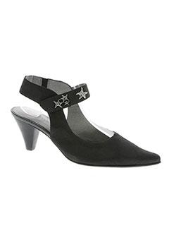 944ce569a6f Chaussures FUGITIVE BY FRANCESCO ROSSI Femme De Couleur Noir En ...