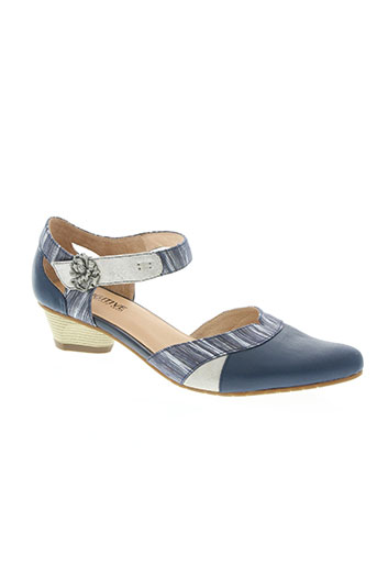 fugitive by francesco rossi chaussures femme de couleur bleu