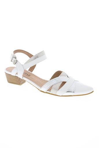 fugitive by francesco rossi chaussures femme de couleur blanc