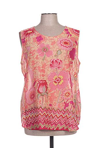 thalassa chemises femme de couleur rose