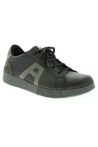 art chaussures homme de couleur noir