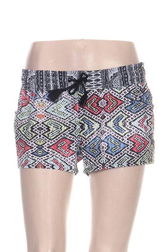 roxy girl shorts / bermudas femme de couleur gris