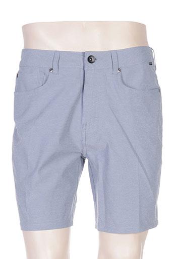 quiksilver shorts / bermudas homme de couleur bleu