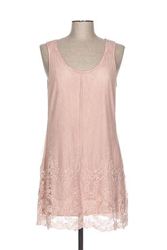 simclan robes femme de couleur rose