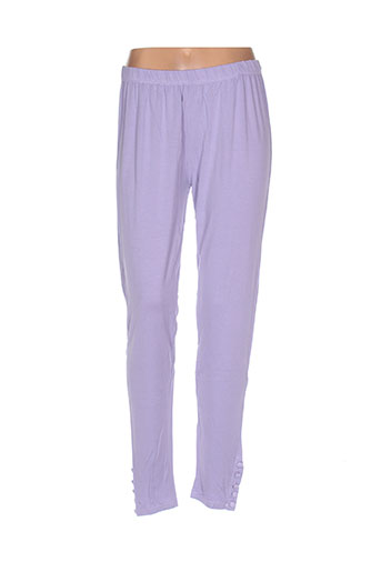 replace pantalons femme de couleur violet