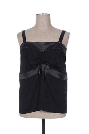 biluzik chemises femme de couleur noir